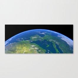 The Earth 02 Canvas Print