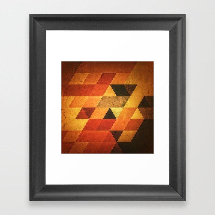 Dyyp Ymbyr Framed Art Print