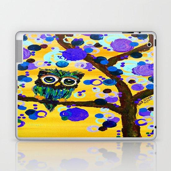 :: Sunshine Gemmy Owl :: Laptop & iPad Skin