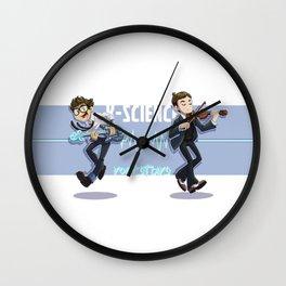 k-science rockstars Wall Clock