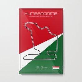 Hungaroring Metal Print