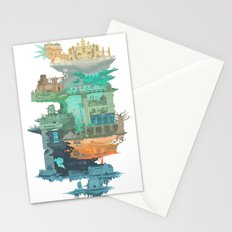 Dark Souls World Map Stationery Cards