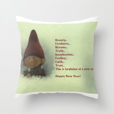 For coming New Year) Throw Pillow