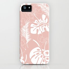 Tropical pattern 020 iPhone Case