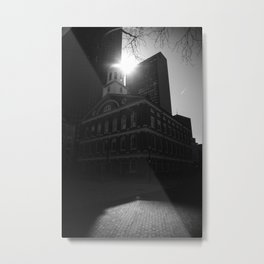 Faneuil Hall - Boston, MA 03.22.20 Metal Print