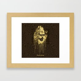 Crush The Demoniac Framed Art Print