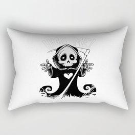 Cute Grim Reaper - Baby Death Wants a Hug! Rectangular Pillow