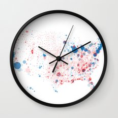 Election Mapping 2008 Wall Clock
