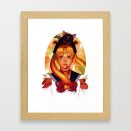 For Love and Justice Framed Art Print