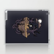 Dark Wood Laptop & iPad Skin
