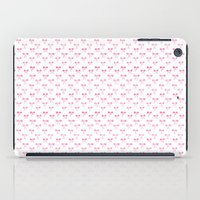 bows iPad Cases featuring Bows by Happiness is... illustration & design
