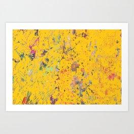 Bohemian Yellow Art Print