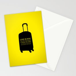 Sunscreen / Live in New York City once Stationery Cards