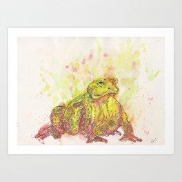 Ink Animals of Africa Art Print