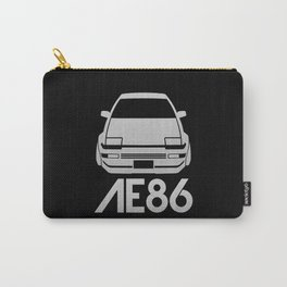 Toyota AE86 Hachi Roku - silver - Carry-All Pouch