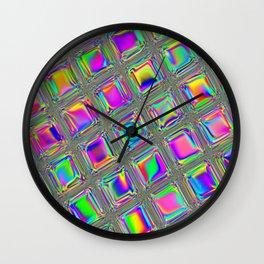 Opal Glass Wall Clock