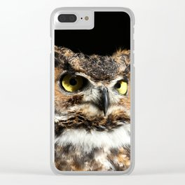 In his domain Clear iPhone Case