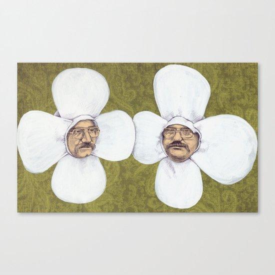 Flower Men Canvas Print