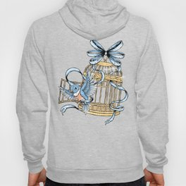 Bird with Cage Hoody