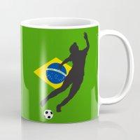 brazil Mugs featuring Brazil - WWC by Alrkeaton