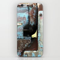 metal iPhone & iPod Skins featuring METAL by The Family Art Project