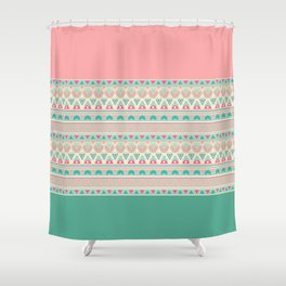 Ethnic , ornament , tribal 2 Shower Curtain