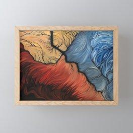 Breaking Point Framed Mini Art Print