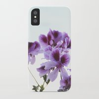 leah flores iPhone & iPod Cases featuring Flores by angelazf