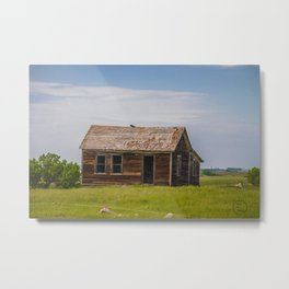 Sod Homestead, Mercer County, ND 5 Metal Print