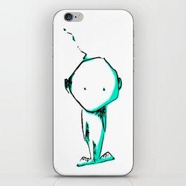 Cute alien iPhone Skin