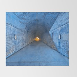 Tunnel of Redemption Throw Blanket