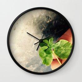 Vibrational Match Photography Wall Clock