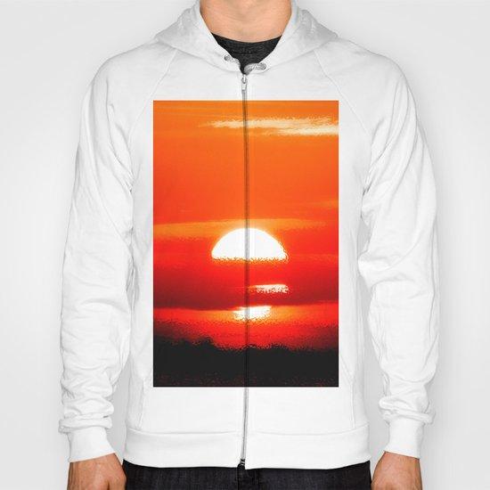 Sunrise Abstract Hoody