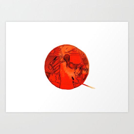 Giappone Art Print