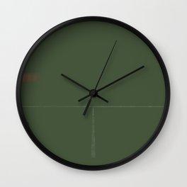 Dodge This Wall Clock
