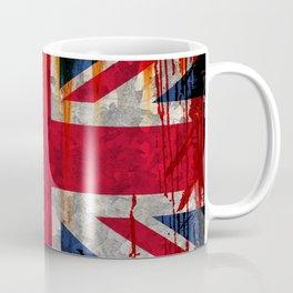 Paint splattered Union flag Coffee Mug