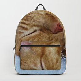 Sleeping Cat Backpack