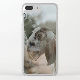 Abigail Clear iPhone Case
