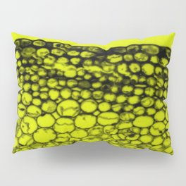 Crowded - Abstract In Black And Yellow Pillow Sham