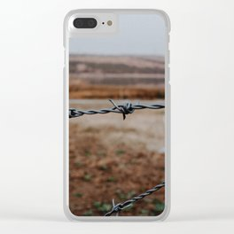 Not allowed Clear iPhone Case