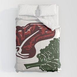 Steak and Kale Comforters