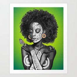 Nahla Art Print