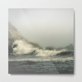 Into the waves V Metal Print