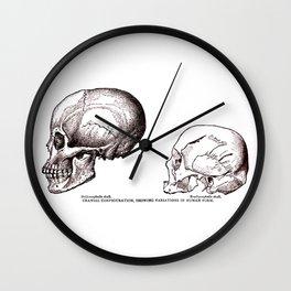 Cranial Configurations Wall Clock