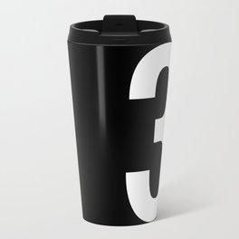 Lucky number: 3 Travel Mug