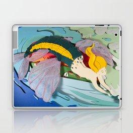 Flying Mermaid Laptop & iPad Skin