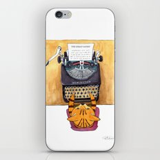 The Great Catsby. iPhone & iPod Skin