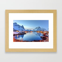 Lofoten islands, Norway Framed Art Print
