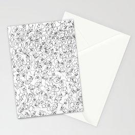 Many Mini Mice Stationery Cards