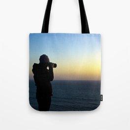 Capturing Sunsets Tote Bag